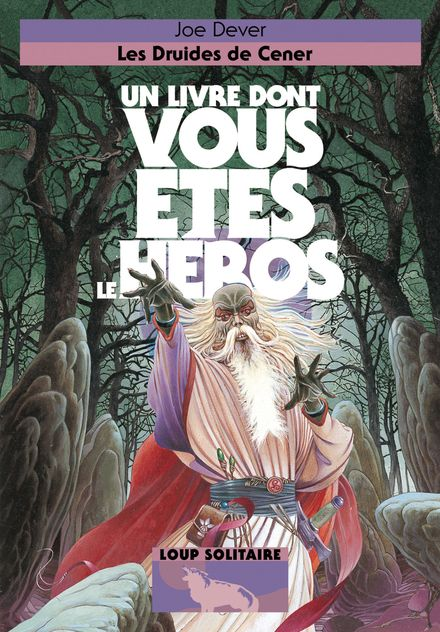 Les Druides de Cener - Joe Dever, Brian Williams