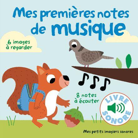 Mes premières notes de musique - Marion Billet