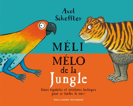 Méli-mélo de la Jungle - Axel Scheffler