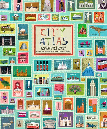 City Atlas - Georgia Cherry, Martin Haake