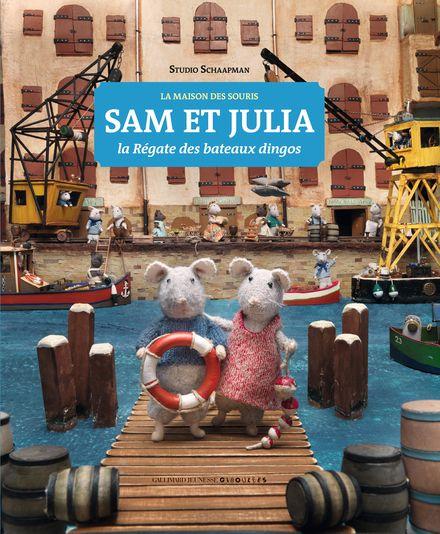 Sam et Julia, la Régate des bateaux dingos - Karina Schaapman
