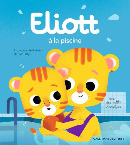 Eliott à la piscine - Françoise de Guibert, Olivier Latyk