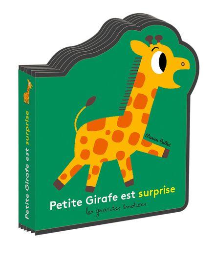 Petite Girafe est surprise - Marion Billet
