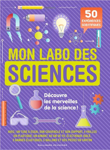 Mon labo des sciences -  un collectif d'illustrateurs, Sally MacGill