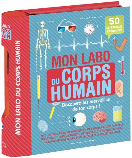 Mon labo du corps humain -  un collectif d'illustrateurs, Sally MacGill