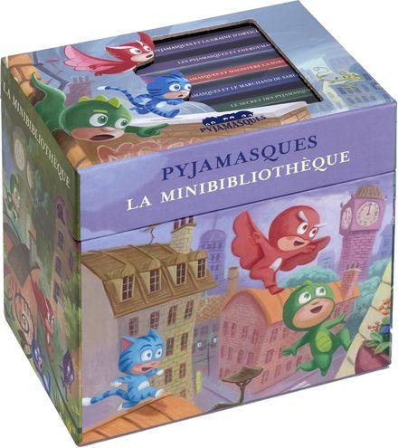 La minibibliothèque Pyjamasques -  Romuald