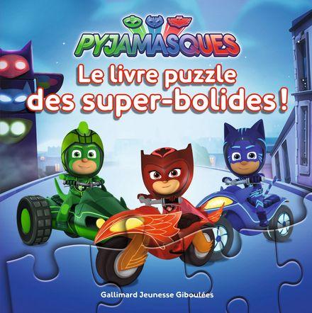 Le livre puzzle des super-bolides! -  Romuald