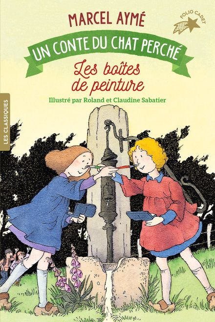 Les boîtes de peinture - Marcel Aymé, Claudine et Roland Sabatier