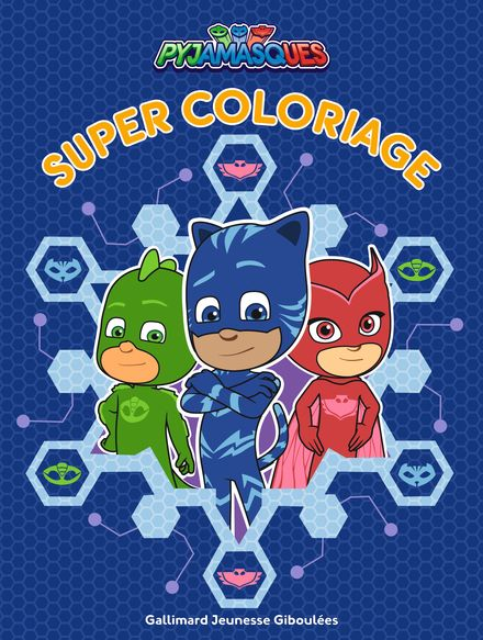 Super coloriage Pyjamasques -  Romuald