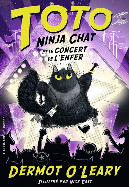 Toto Ninja chat et le concert de l'enfer - Nick East, Dermot O'Leary