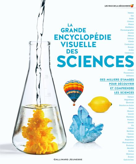La grande encyclopédie visuelle des sciences -