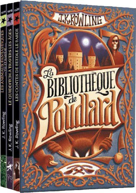 La bibliothèque de Poudlard - J.K. Rowling