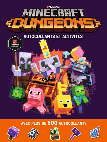 Minecraft : Dungeons Autocollants et activités -
