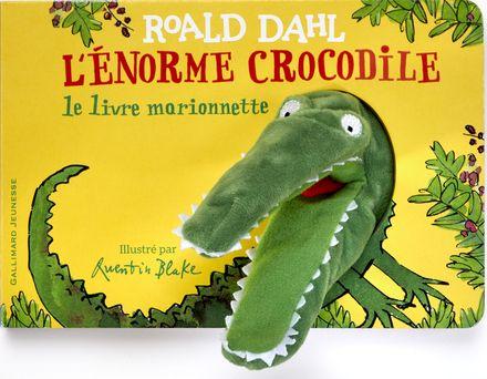 L'Enorme crocodile - livre marionnette (tp) - Roald Dahl