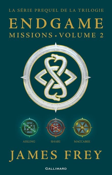 Endgame : Missions - James Frey, Nils Johnson-Shelton