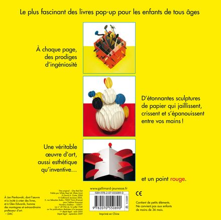 Un point rouge - David A. Carter