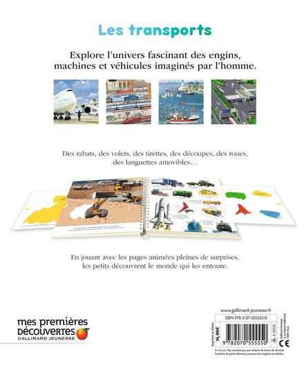 Explore! Les transports - Delphine Badreddine,  un collectif d'illustrateurs