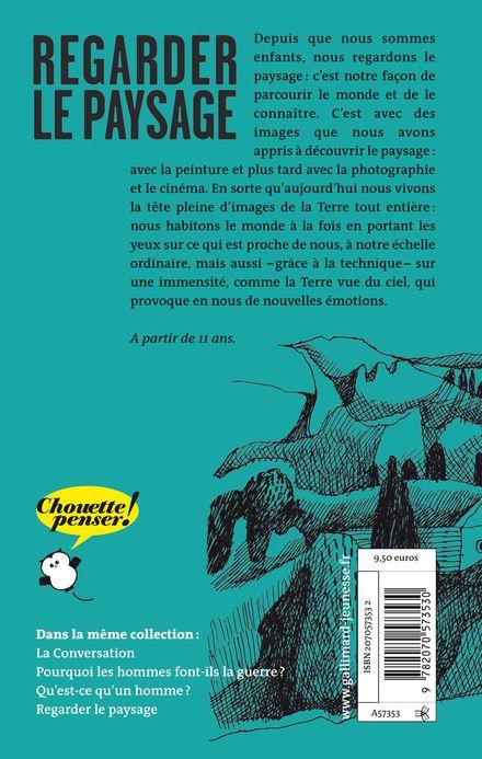 Regarder le paysage - Aurore Callias, Claude Eveno