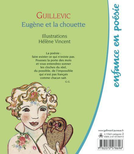 Eugène et la chouette - Eugène Guillevic, Hélène Vincent