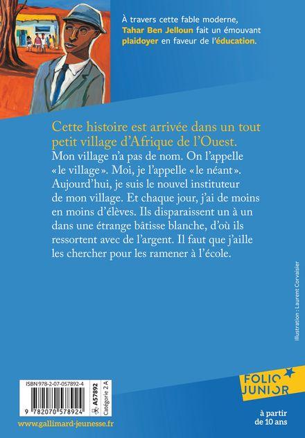 L'école perdue - Tahar Ben Jelloun, Laurent Corvaisier