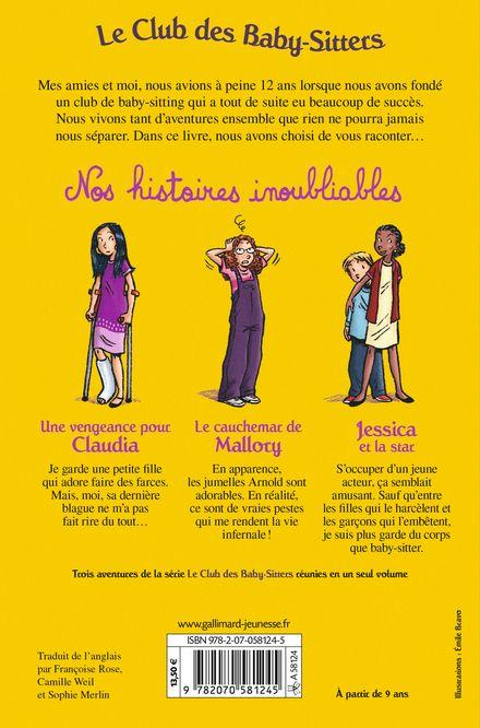 Nos histoires inoubliables - Émile Bravo, Ann M. Martin