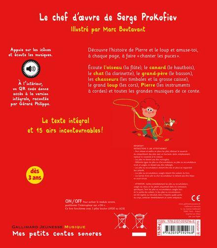 Pierre et le loup - Marc Boutavant, Serge Prokofiev