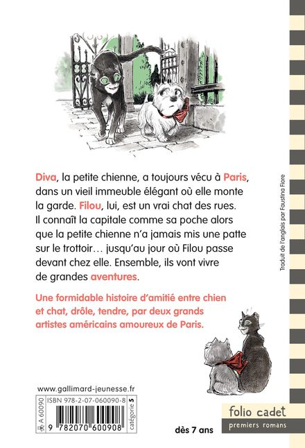 L'histoire de Diva et Filou - Tony DiTerlizzi, Mo Willems