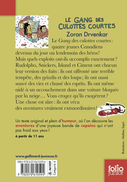 Le gang des culottes courtes - Zoran Drvenkar, Ole Könnecke