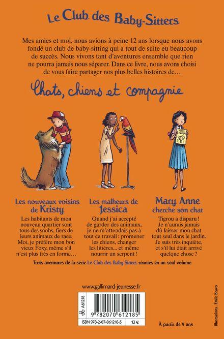 Chats, chiens et compagnie - Émile Bravo, Ann M. Martin