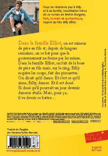 Billy Elliot - Melvin Burgess