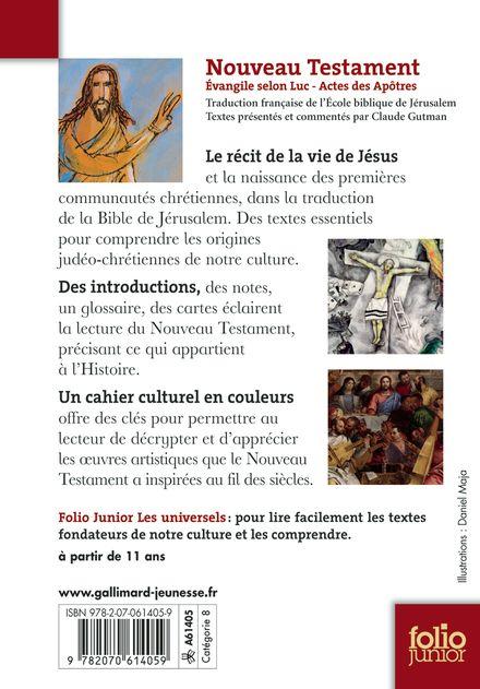 Nouveau Testament -  Anonymes