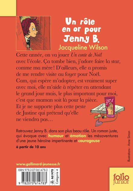 Un rôle en or pour Jenny B. - Nick Sharratt, Jacqueline Wilson