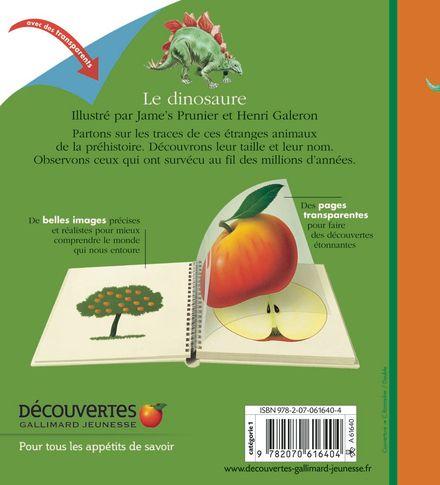 Le dinosaure - Henri Galeron, Jame's Prunier