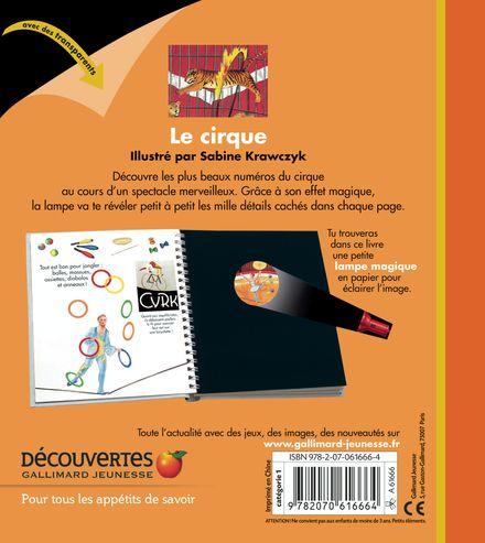 Le cirque - Claude Delafosse, Sabine Krawczyk