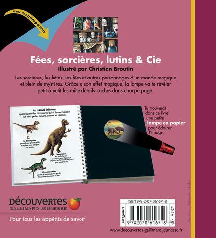 Fées, sorcières, lutins & Cie - Christian Broutin, Claude Delafosse
