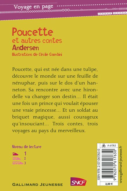Poucette et autres contes - Hans Christian Andersen, Cécile Gambini