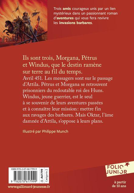 L'otage d'Attila - Évelyne Brisou-Pellen, Philippe Munch