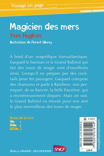 Le magicien des mers - Yves Hughes, Florent Silloray