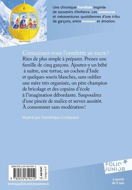 L'omelette au sucre - Jean-Philippe Arrou-Vignod, Dominique Corbasson