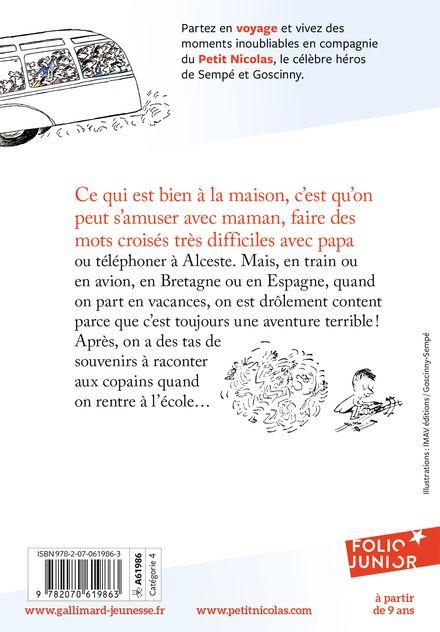 Le Petit Nicolas voyage - René Goscinny,  Sempé