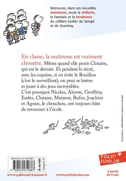 La rentrée du Petit Nicolas - René Goscinny,  Sempé