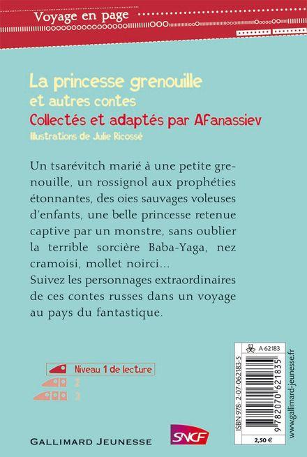 La princesse grenouille et autres contes - Julie Ricossé