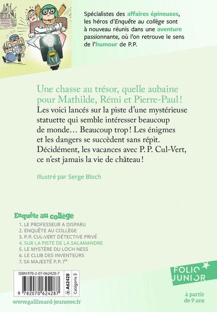 Sur la piste de la salamandre - Jean-Philippe Arrou-Vignod, Serge Bloch