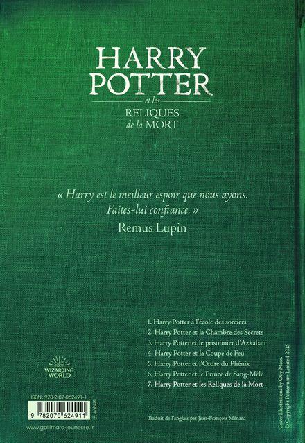 Harry Potter et les Reliques de la Mort - J.K. Rowling