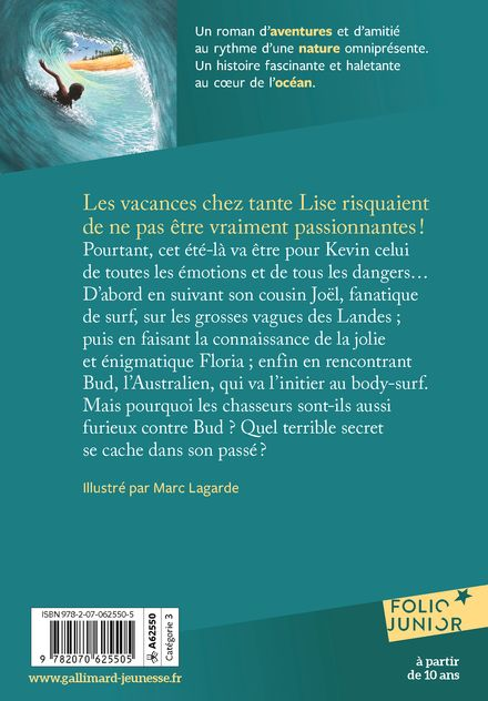 L'homme des vagues - Marc Lagarde, Hugo Verlomme
