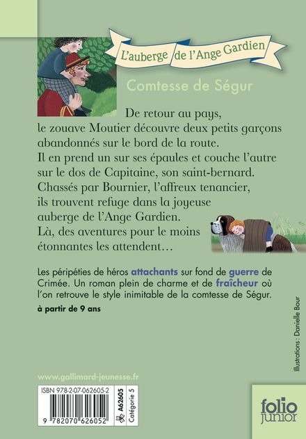 L'auberge de l'Ange-Gardien -  Foulquier, Comtesse de Ségur