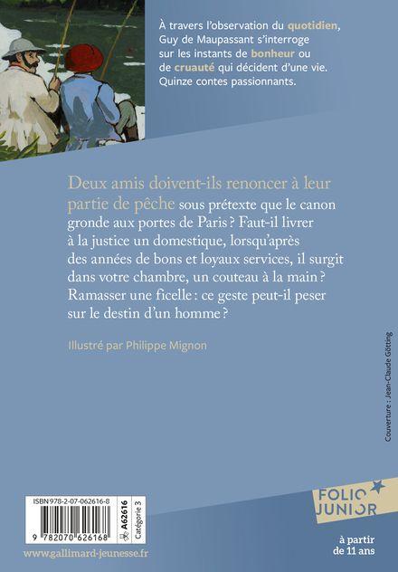 Deux amis et autres contes - Guy de Maupassant, Philippe Mignon