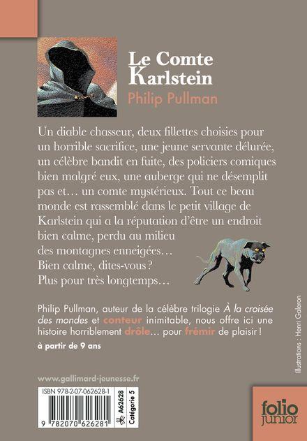 Le Comte Karlstein - Diana Bryan, Philip Pullman