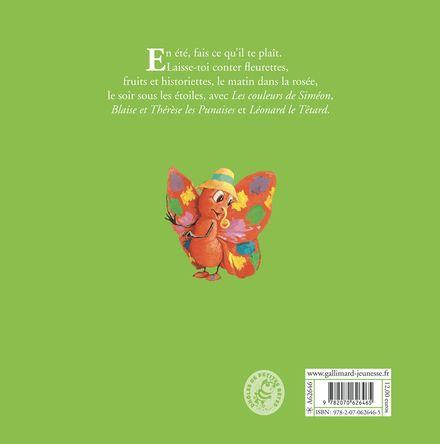 Contes d'été des Drôles de Petites Bêtes - Antoon Krings