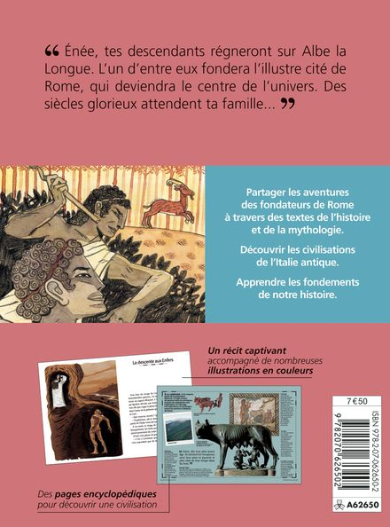 Sur les traces des fondateurs de Rome - Philippe Castejon, Vincent Desplanche